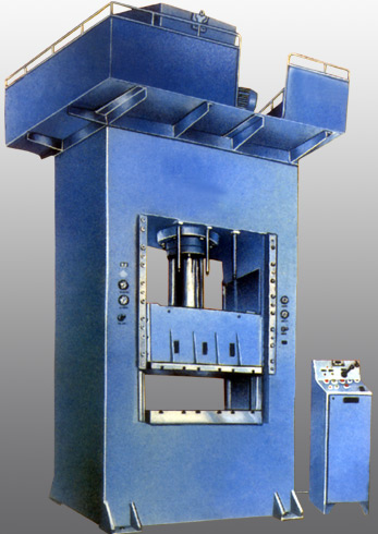 Hydraulic Deep Drawing Press With Die Cushion